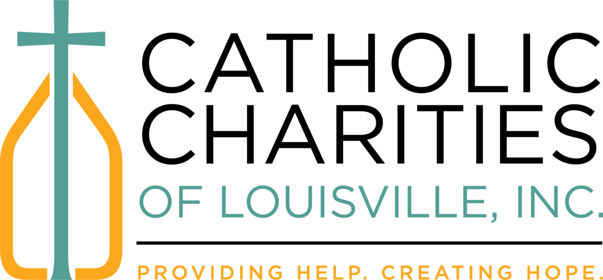 Catholic Charities Main Logo - 2017 Black Teal Gold